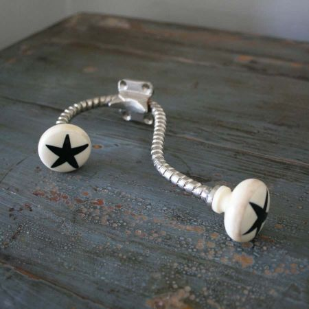 Black Star Bone Hook