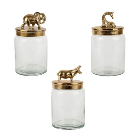 Gold Lid Jars