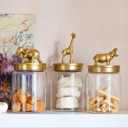 Gold Lid Jars