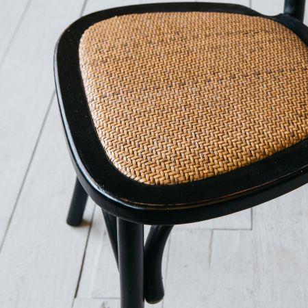 Brady Black Dining Chair