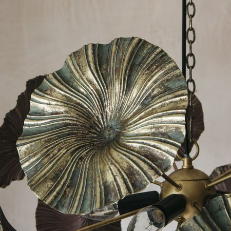 Water Lily Pendant Light