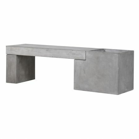 Concrete Bench Planter
