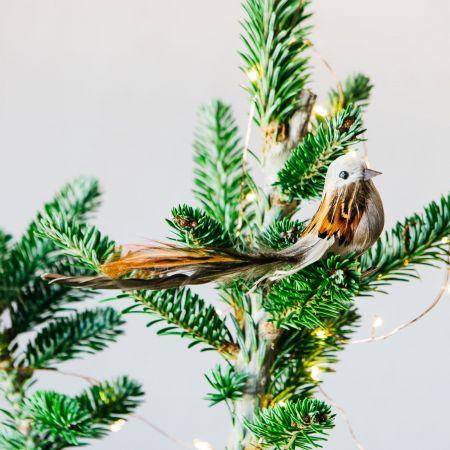 Mini Feather Bird Clip