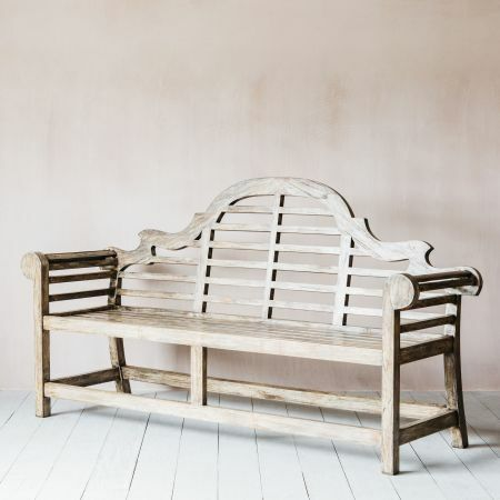 Marl Three Seater Bench