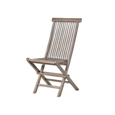 Grey Teak Garden Chair
