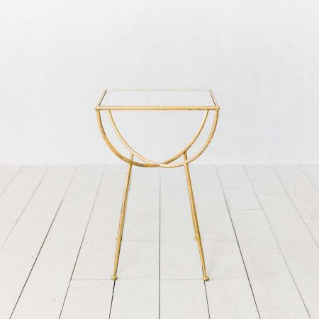 Eluminea Gold Side Table