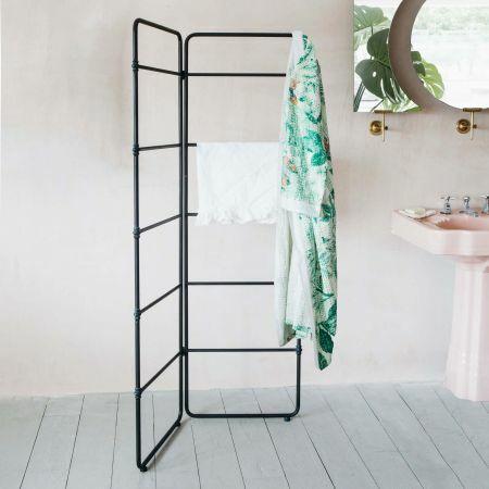 Iron Freestanding Towel Rack
