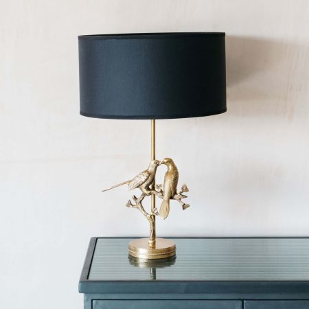 Lovebird Table Lamp