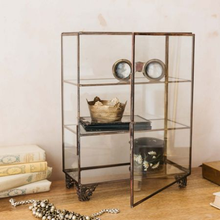 Small Glass Display Cabinet