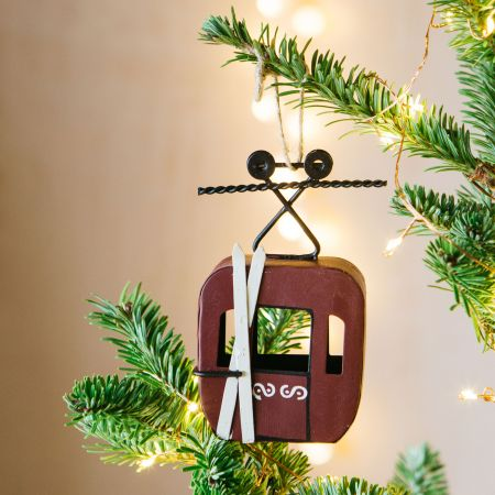 Cable Car Hanging Decoration