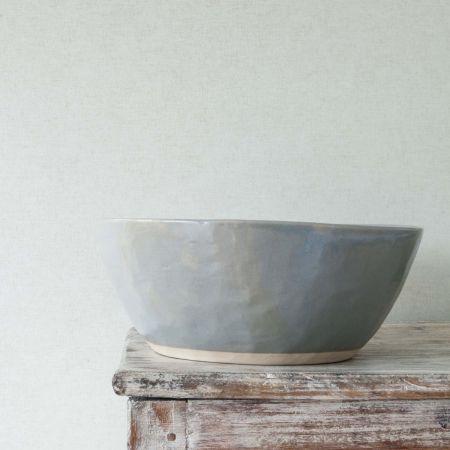 Grey Organic Salad Bowl - Thumbnail