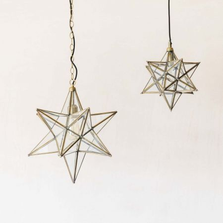 Star Brass Pendants