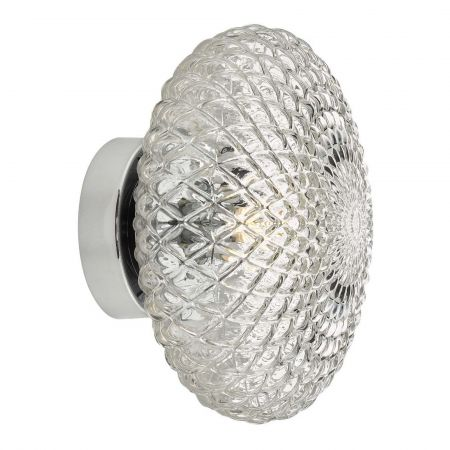 Sylvie Small Glass Wall Light