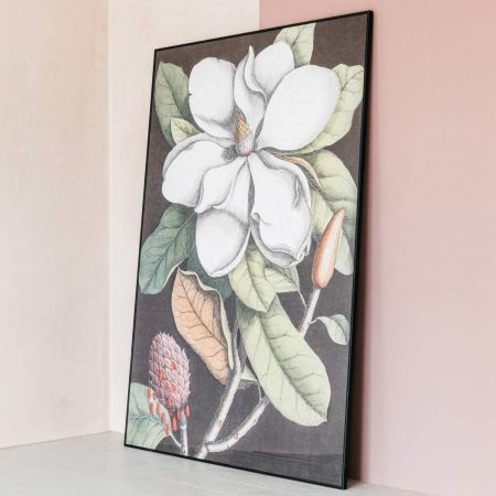Extra Large Framed Blooming Magnolia Print