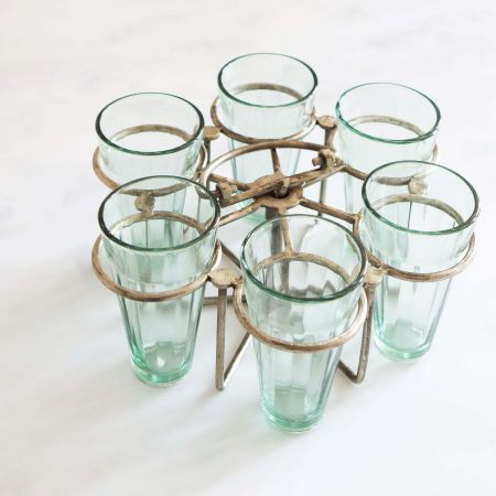 Java Round Glasses Set