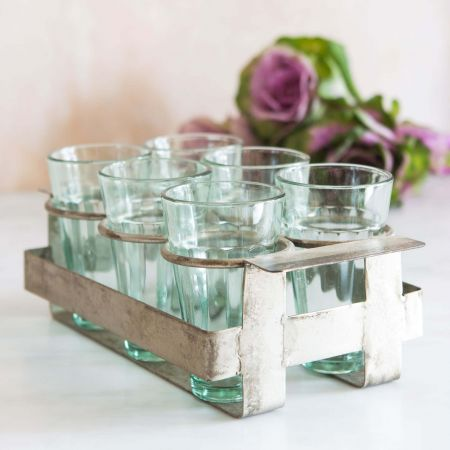 Java Glasses Tray Set