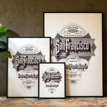 Framed San Francisco Prints