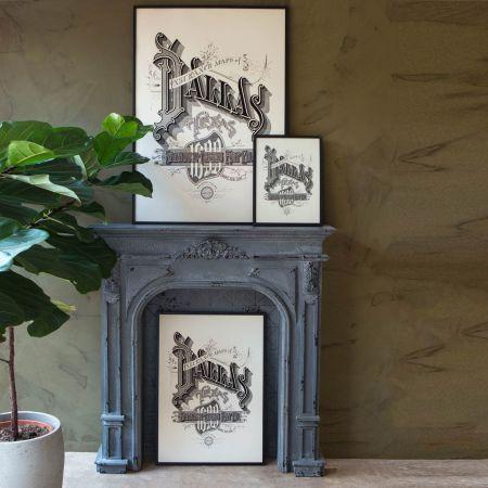 Framed Dallas Prints