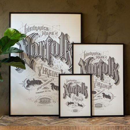 Framed Norfolk Prints