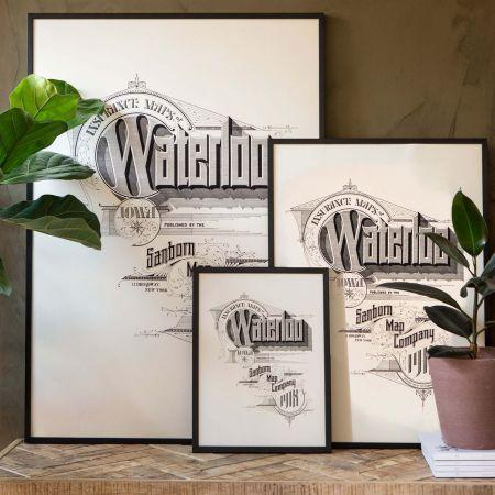 Framed Waterloo Prints