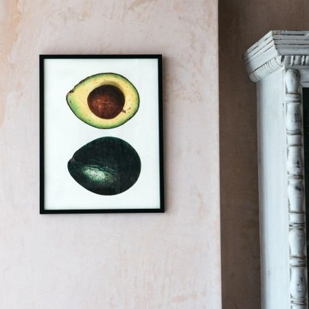 Small Framed Avocado Print