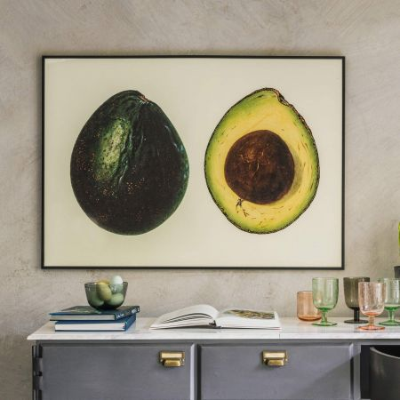 Large Framed Avocado Print