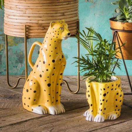 Cheetah Watering Can