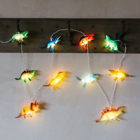 Bright Dinosaur String Lights