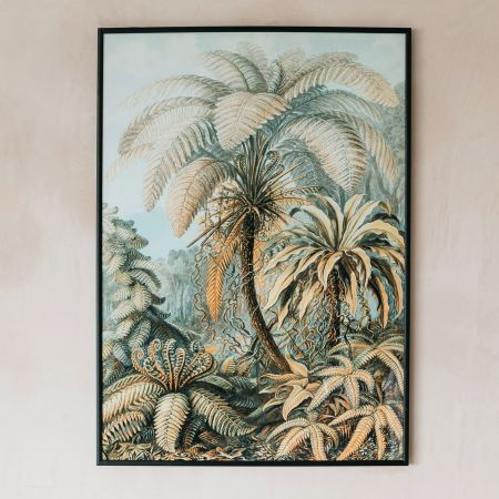 Large Framed Palm Tree Print