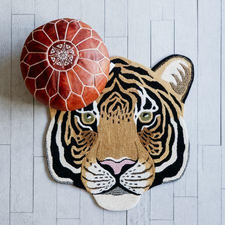 Tami Tiger Head Rug