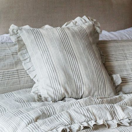 Annika Woven Stripe Cushion