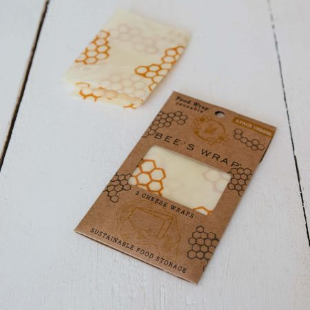 Set of Three Bee's Wrap Cheese Wraps