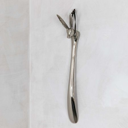Nickel Hare Shoe Horn