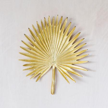 Small Gold Palm Leaf