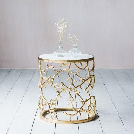 Gold Branchlet Table