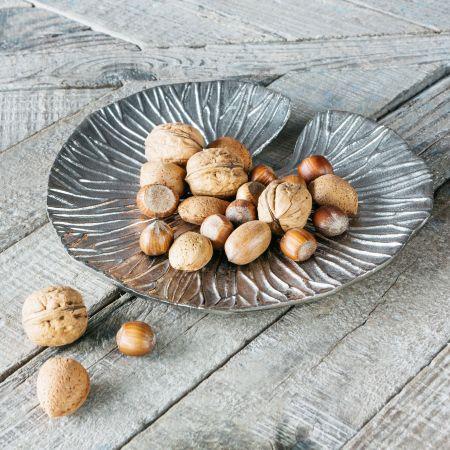 Small Silver Lily Pad Dish
