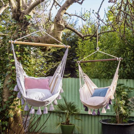 Valencia Tassel Swing Chair