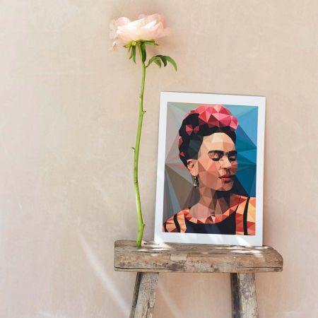 Geometric Frida Print