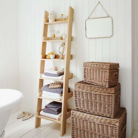 Oak Ladder Shelf - Thumbnail