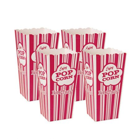 Set Of Four Popcorn Cups - Thumbnail