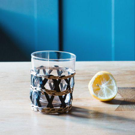 Woven Glass Tumbler