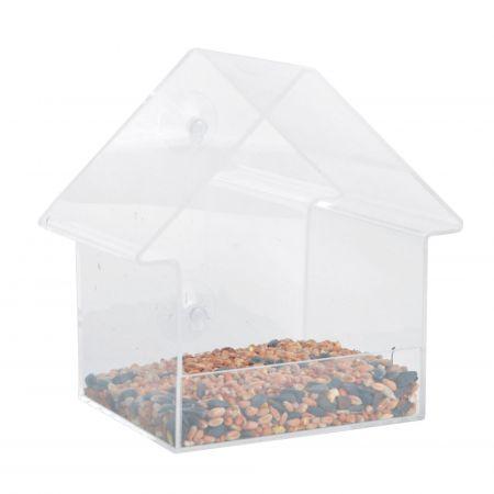 Acrylic House Bird Feeder