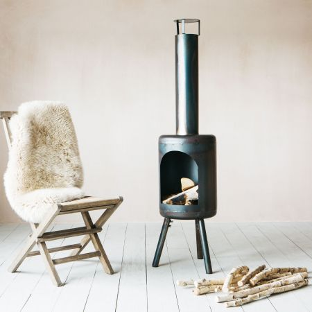 Round Terrace Heater