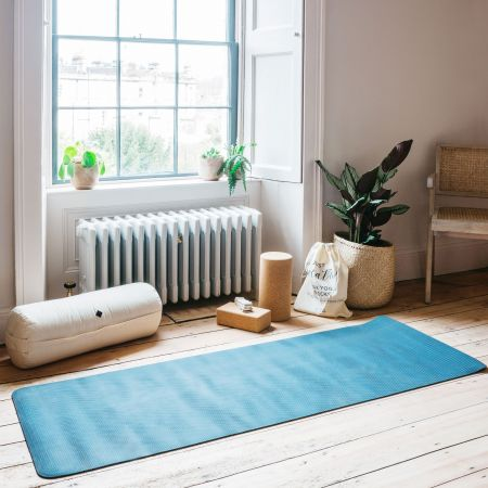 Dark Blue Yoga Mat