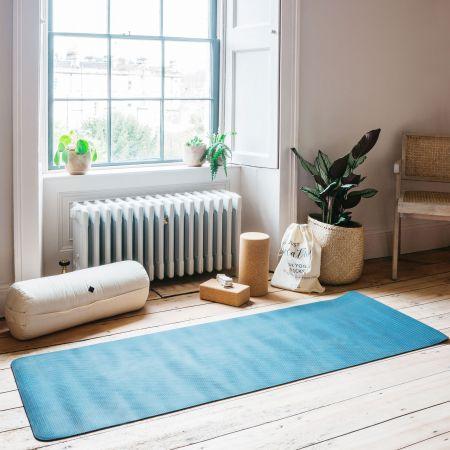 Dark Blue Yoga Mat