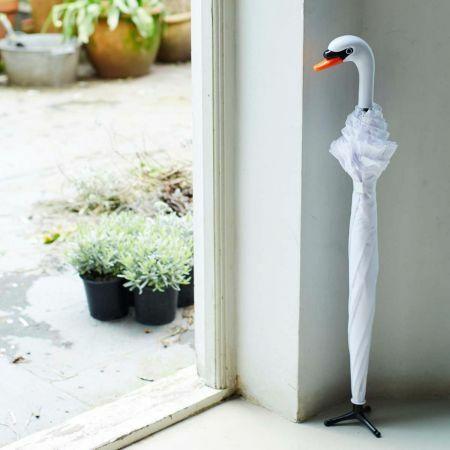Standing Swan Umbrella