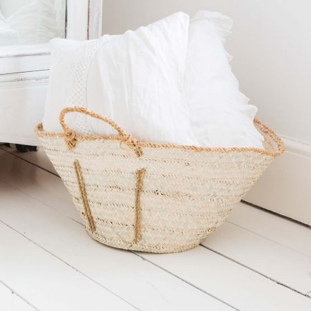 Rustic Palm Basket