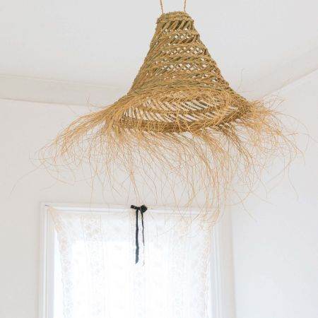 Large Rustic Palm Shade