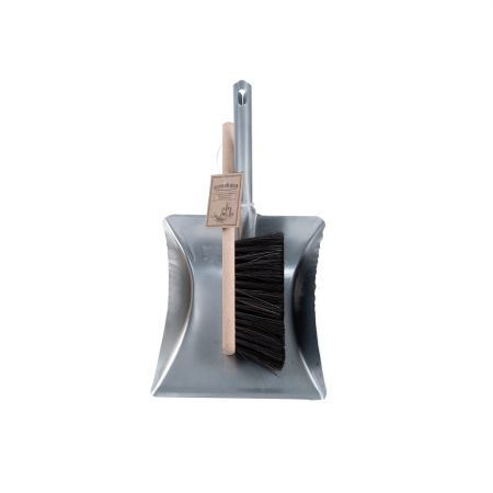 Square Dustpan and Brush