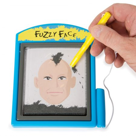 Magnetic Fuzzy Face Toy